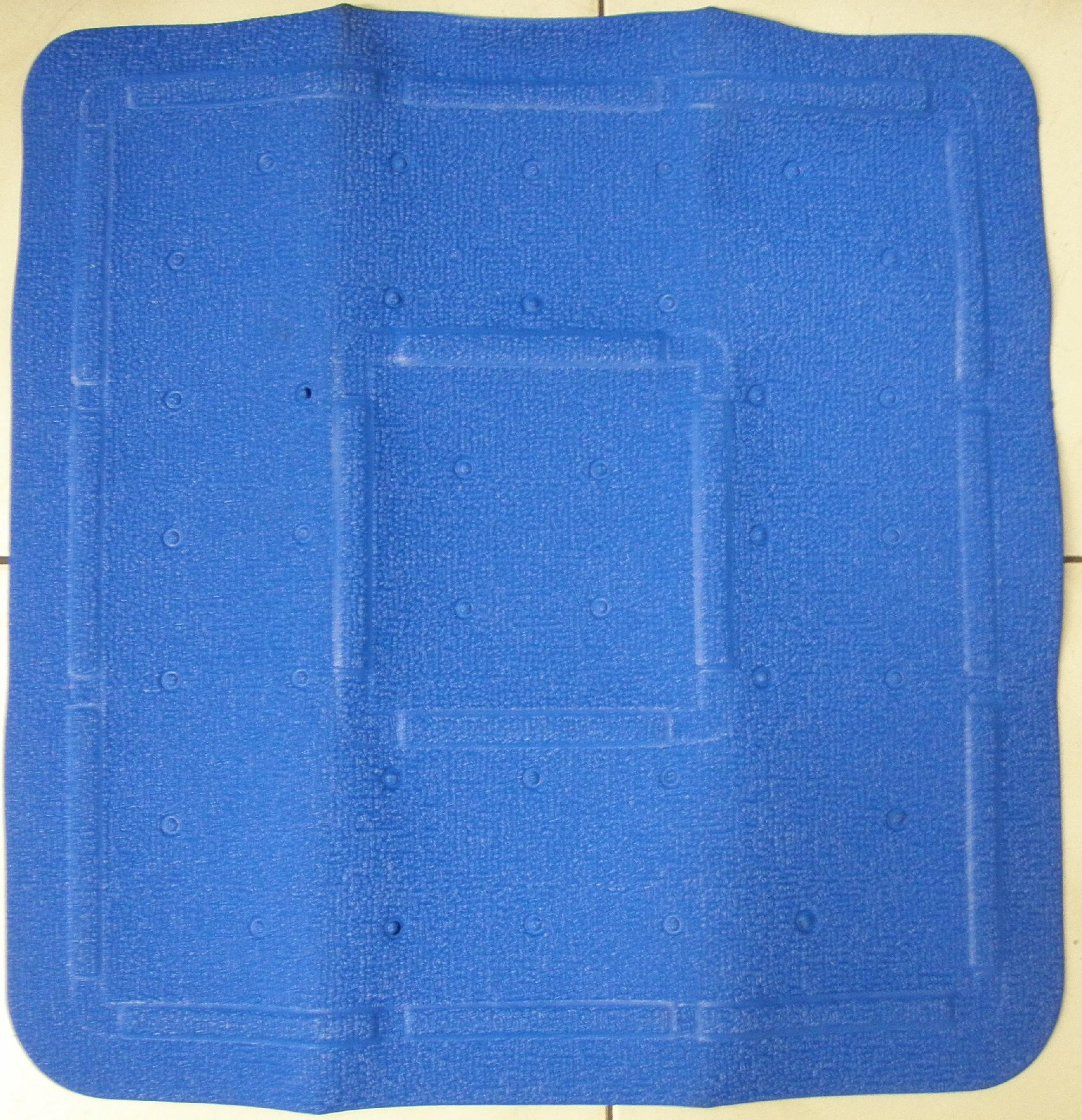 GRUND Protiskluzová podložka BAVENO 54x54 cm barva: tmavě modrá