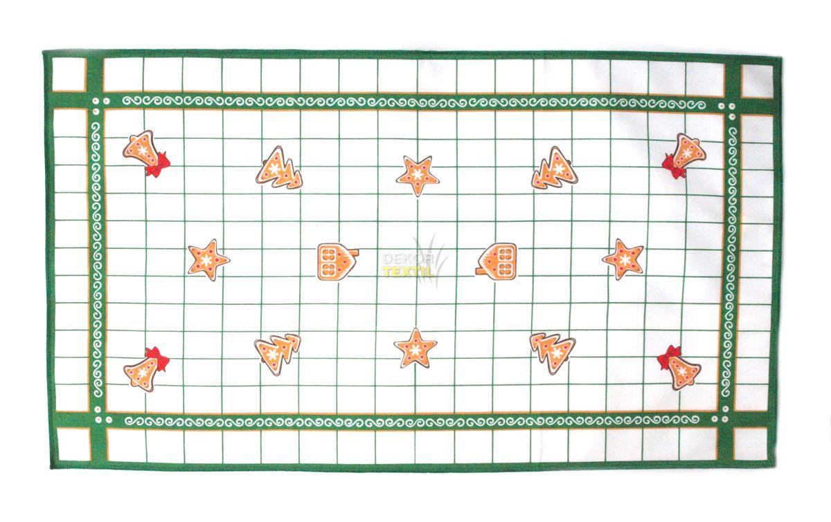frolen Vánoční utěrka - PERNÍČKY ZELENÉ varianta: 45x75 cm