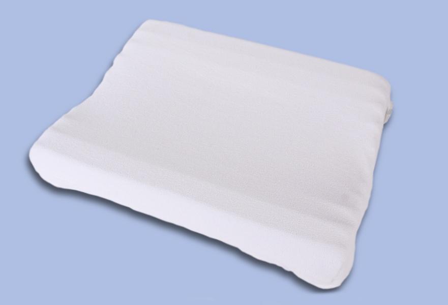 SKANTEX ZDRAVOTNÍ ANATOMICKÝ POLŠTÁŘ SKANTEX® 35/45 FROTÉ barva: bílý potah