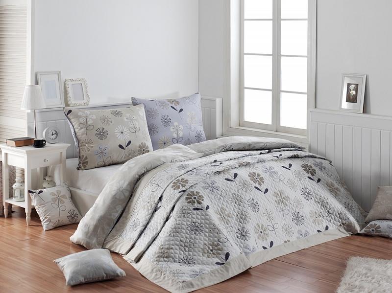 Matějovský Přehoz na postel ETERNITY CHOCO 220/240 cm