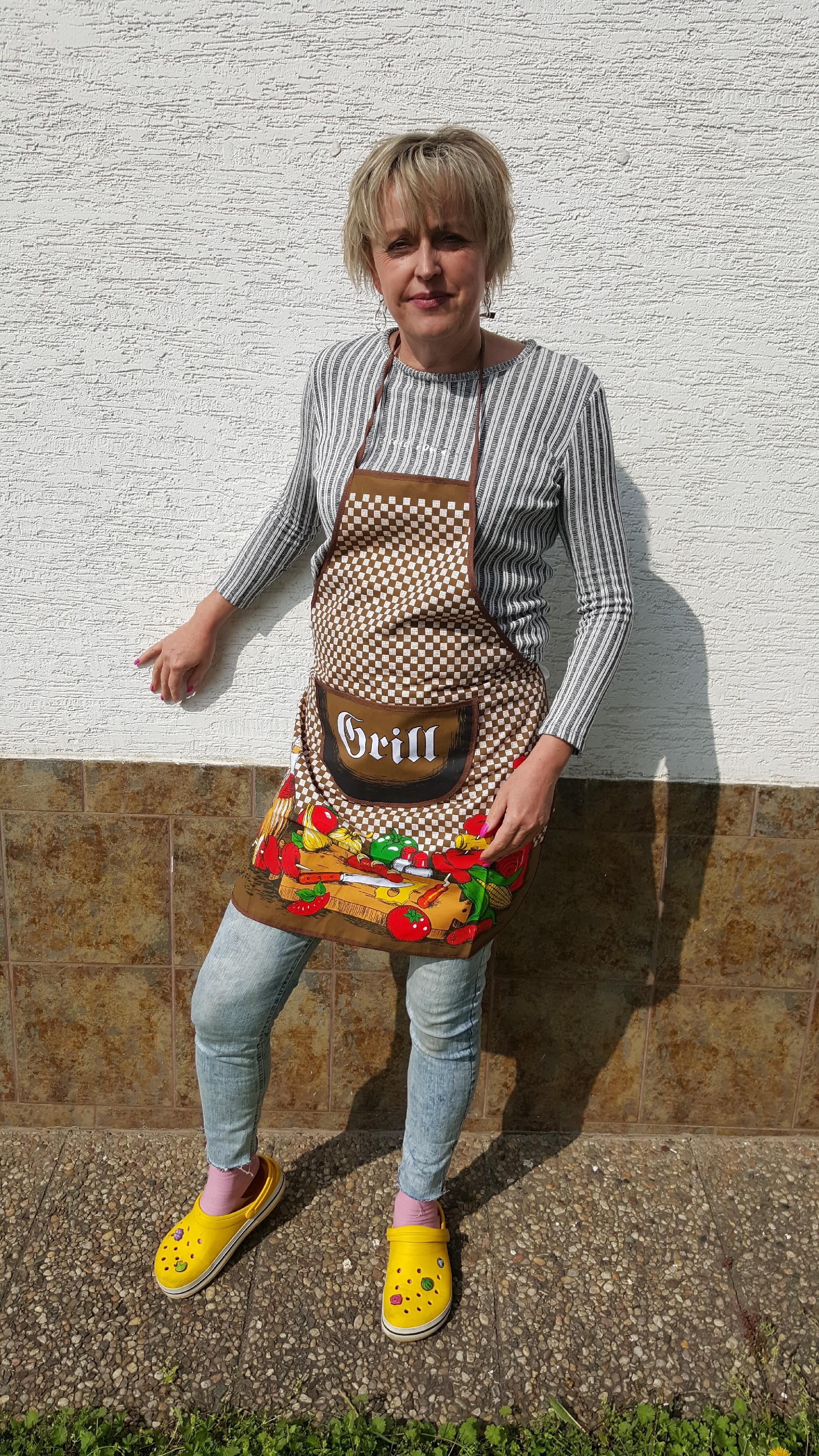 SKANTEX Kuchyňská zástěra - GRILL