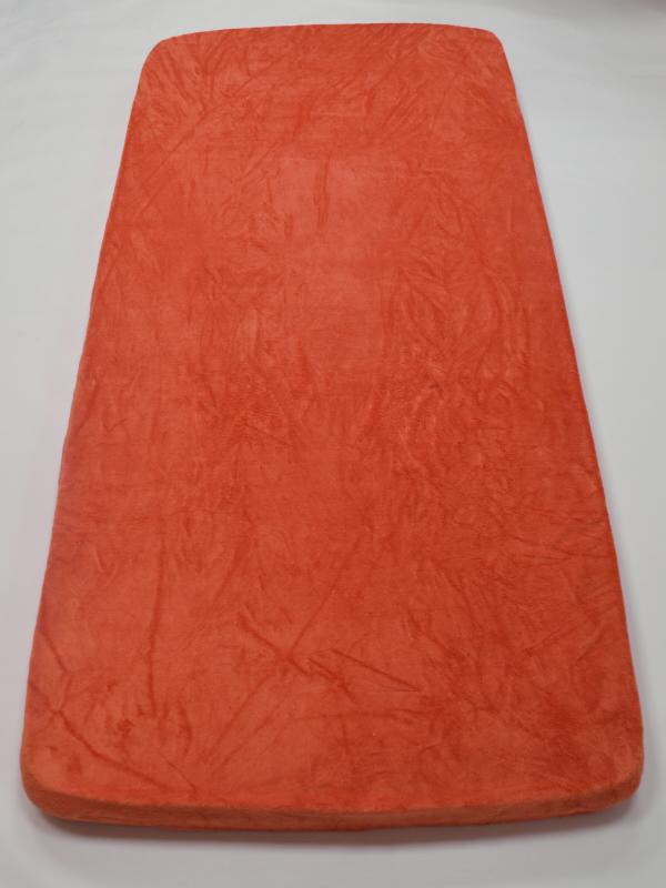 Apex Prostěradlo MICRODREAM 90/200 cm - různé barvy Vzor: Arabesque – cihlová