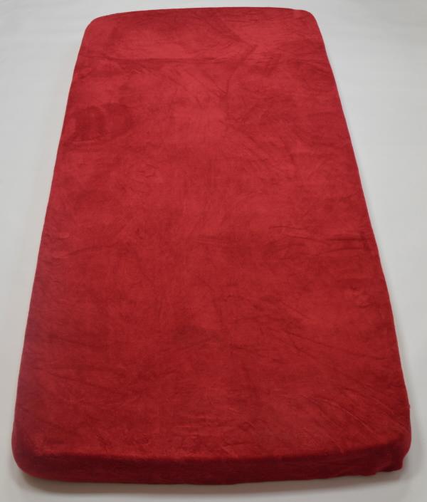 Apex Prostěradlo MICRODREAM 90/200 cm - různé barvy Vzor: Chilli – bordová