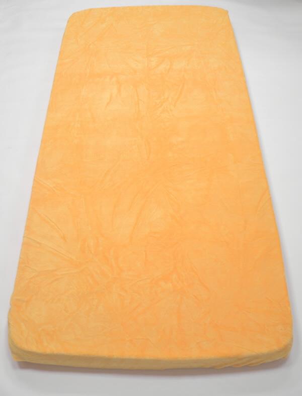 Apex Prostěradlo MICRODREAM 90/200 cm - různé barvy Vzor: Marigold – zlatá