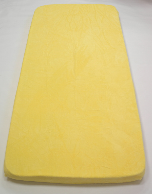 Apex Prostěradlo MICRODREAM 180/200 cm - různé barvy Vzor: Popcorn – sv.žlutá