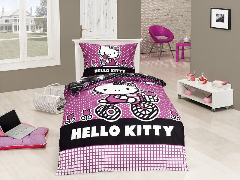 Matějovský Povlečení Hello Kitty SPORT velikost: 140/200+70/90