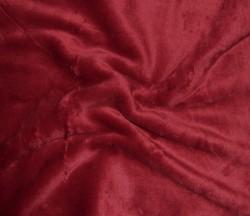 SKANTEX Prostěradlo mikroplyš 90/200 cm - různé barvy barav: vínová