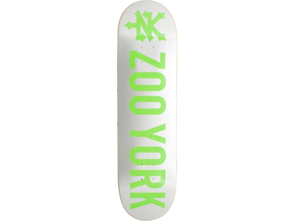 zoo york logo skateboard deck ck