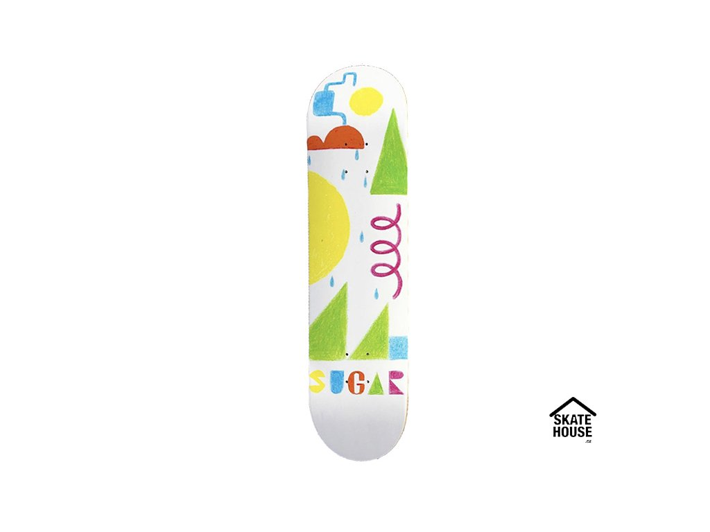 SUGAR Skateboards - DRAWING - 8.25""