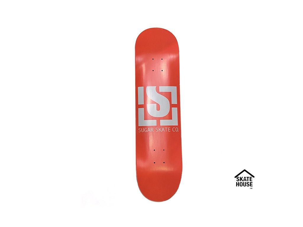 "SUGAR Skateboards - LOGO ORANGE - 8.25"""