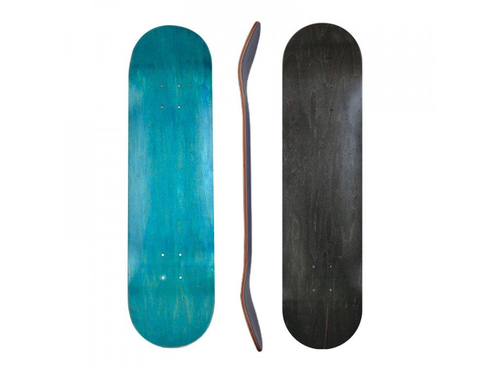 skateboard deck all sides