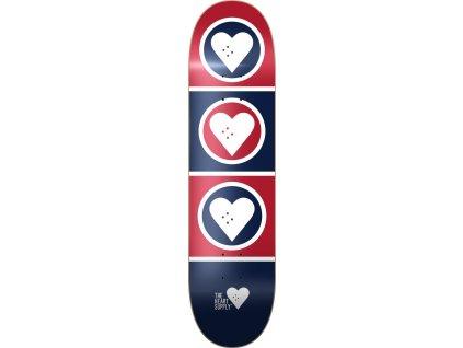 heart supply squad skateboard deck d5
