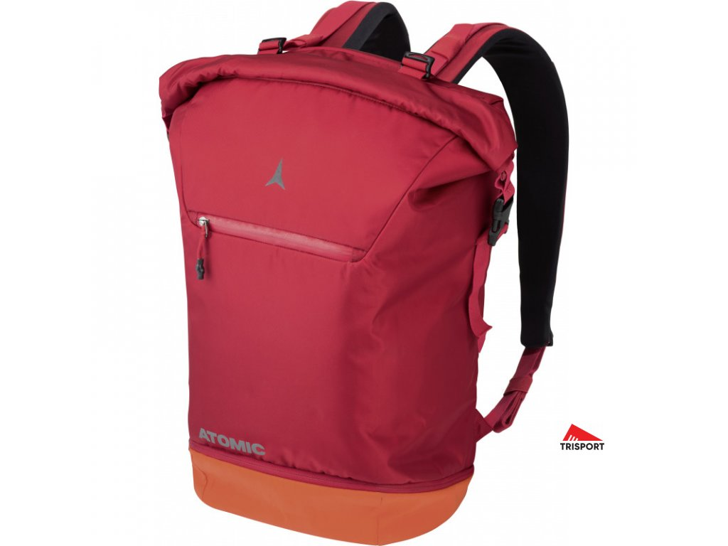 atomic travel pack 35l red bright red
