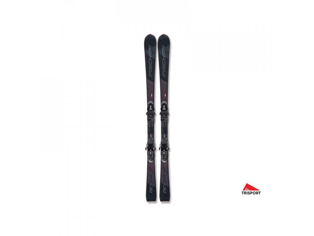 Fischer BRILLIANT RC ONE BLACK ws MF + RS 11 PR 20/21 (Délka sjezdovek 165 cm)