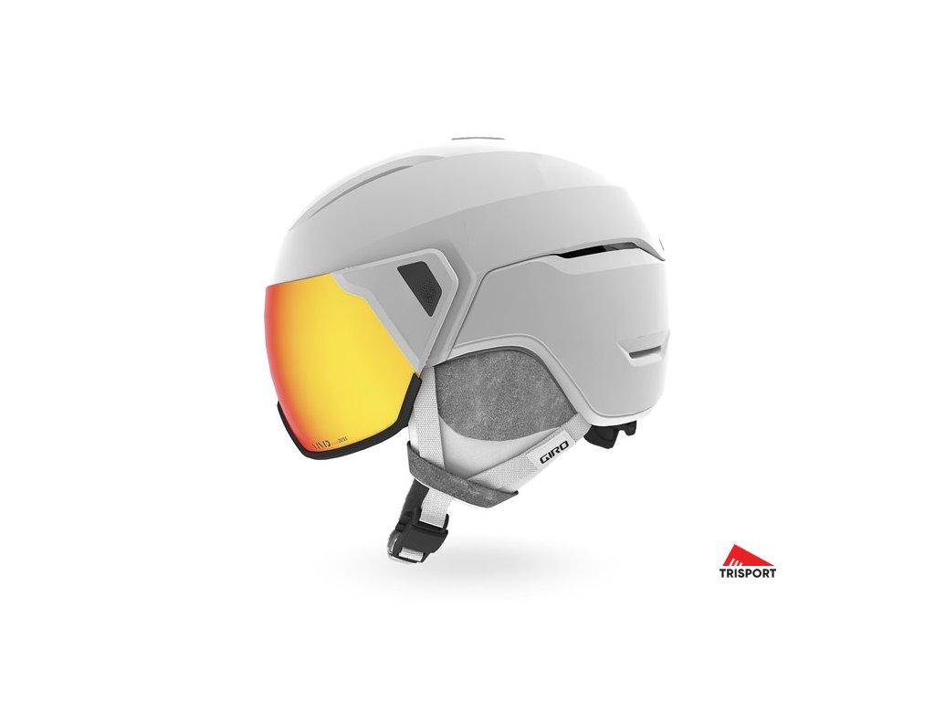 GIRO Aria MIPS Spherical (Barva Mat White, helmy ross velikost M)