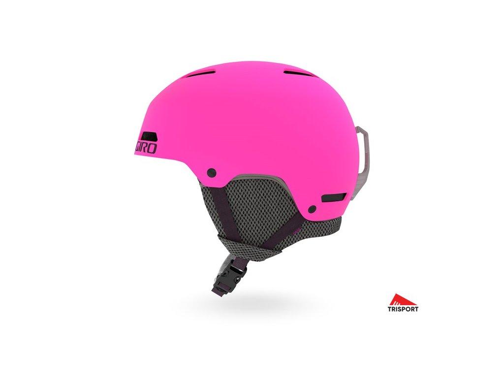 GIRO Crue (Barva Mat Bright Pink, helmy ross velikost S)