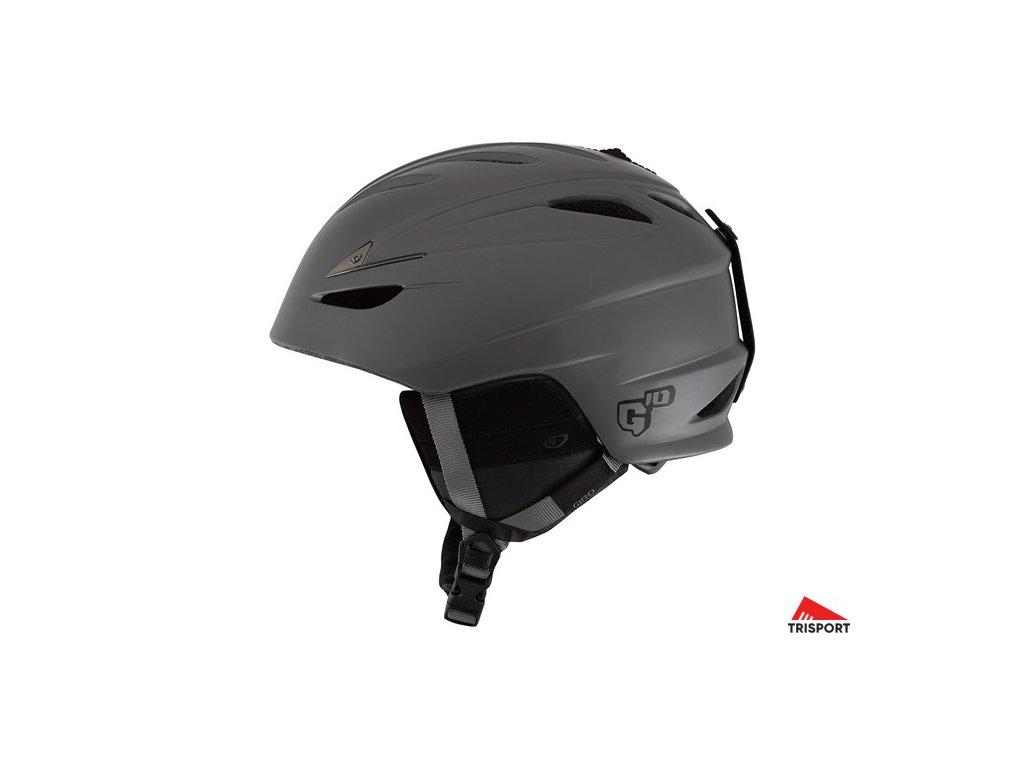 GIRO G10 (Barva Mat Titanium, helmy ross velikost L)
