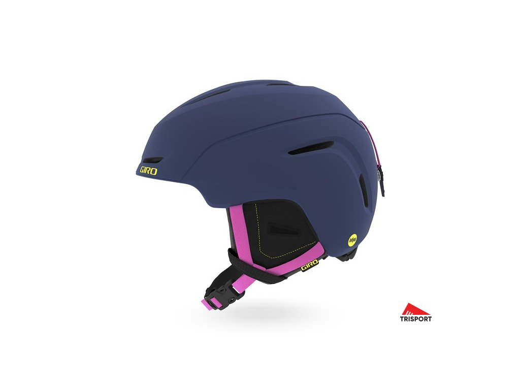 GIRO Neo Jr. MIPS (Barva Mat Midnight/Neon Lights, helmy ross velikost M)