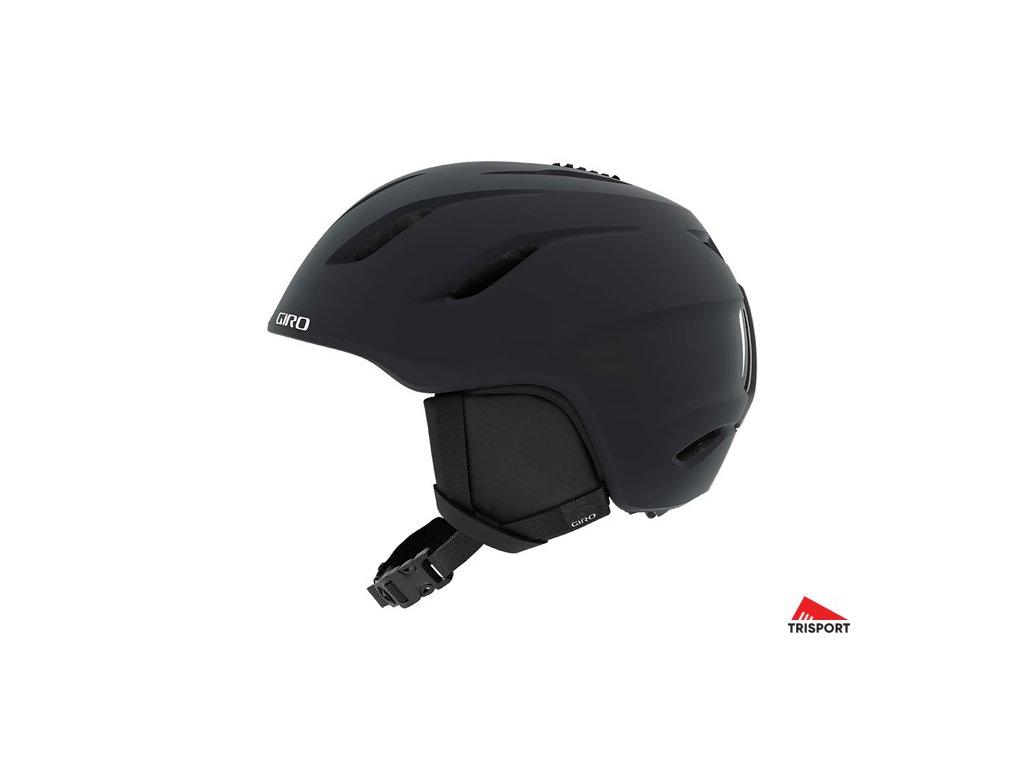 GIRO Nine C (Barva Matte Black, helmy ross velikost L)