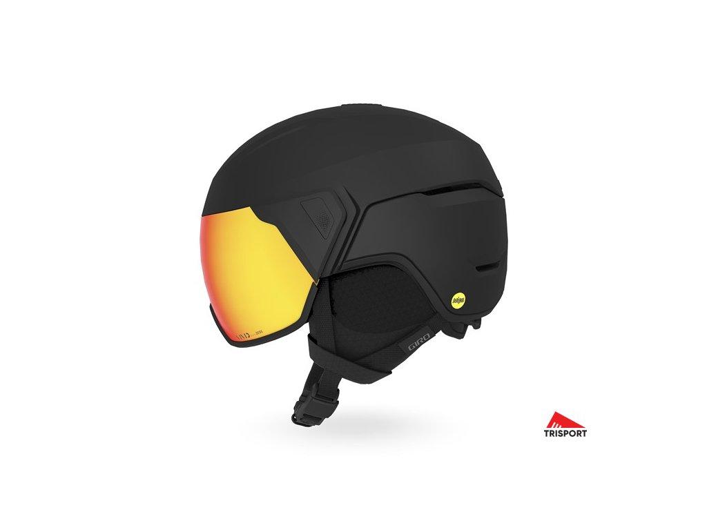GIRO Orbit MIPS Spherical (Barva Mat Black, helmy ross velikost L)