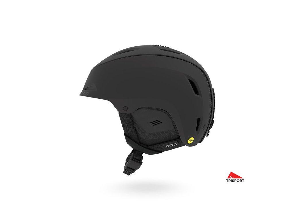 GIRO Range MIPS (Barva Mat Black, helmy ross velikost M)