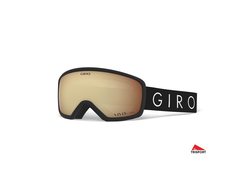 GIRO Millie (Barva brýle lyžařské Black Core Light)