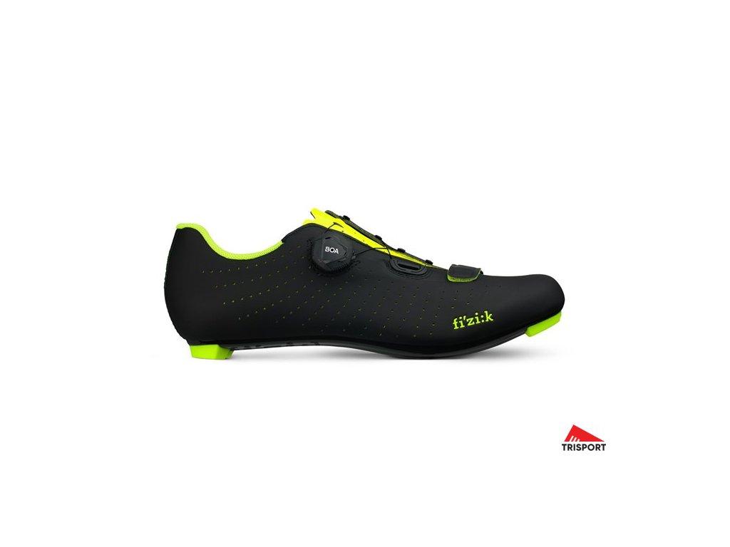 FIZIK Overcurve R5-black/yellow fluo-45 (Barva black/yellow fluo, EUR velikost bot 45)
