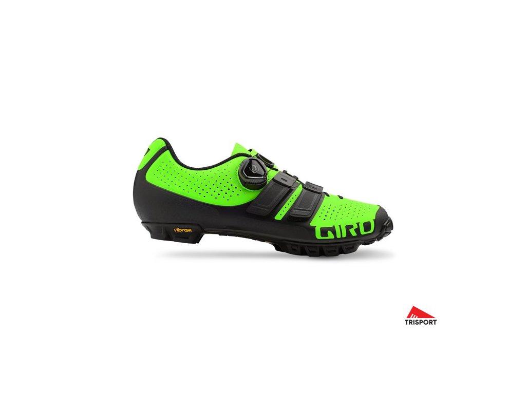 GIRO Code Techlace Lime/Black 46 (Barva lime/black, EUR velikost bot 46)