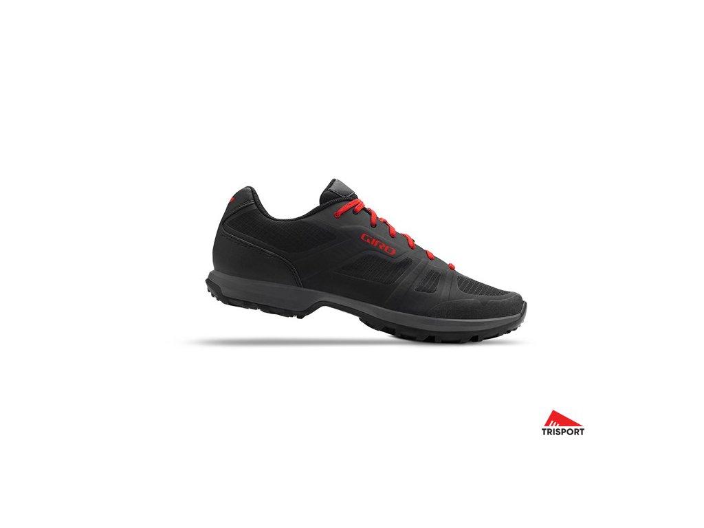 GIRO Gauge Black/Bright Red 50 (Barva black/bright red, EUR velikost bot 50)