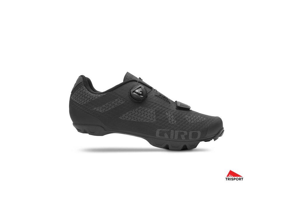 GIRO Rincon Black 50 (Barva black, EUR velikost bot 50)
