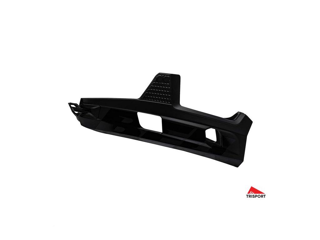 Bell SUPER AIR R CHINBAR (Barva Mat Black, Velikost (oblečení, helmy, páteřáky ....) L)
