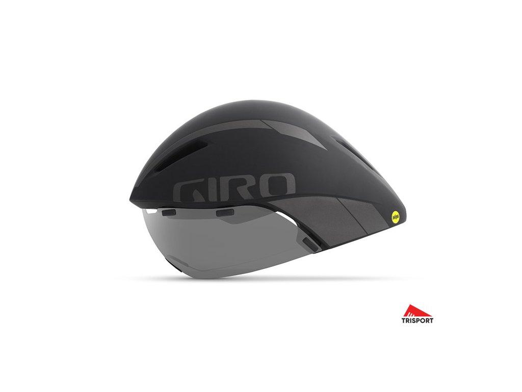 Giro AEROHEAD MIPS (Barva Matte White/Silver, Velikost L)