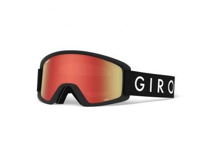 GIRO Semi (Barva brýle lyžařské Black Core)