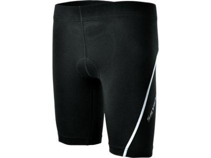 Dětské cyklistické kalhoty Avisio (Barva black/white, Velikost 158-164)