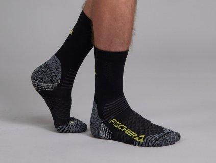 G95019 Skisocks XC Socks short black yellow 915x915[1]