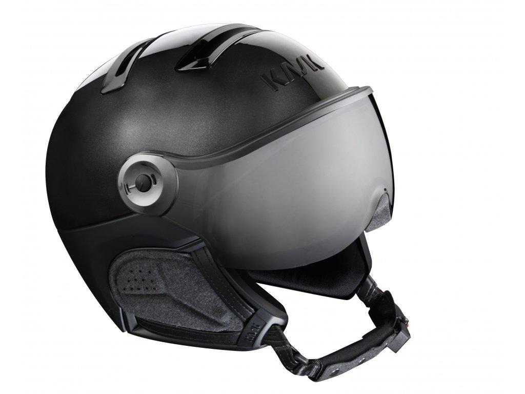 PIUMA R chrome black silver visor