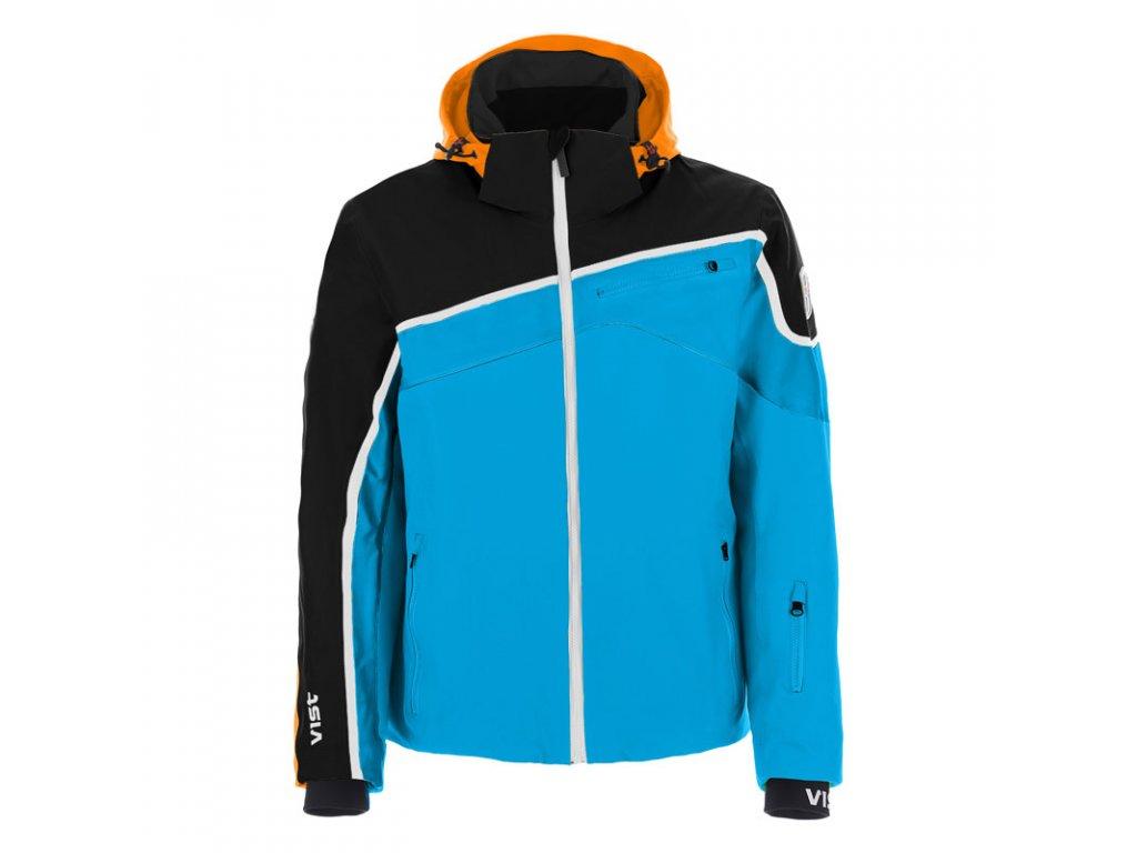 VIST U0030AA 4ABP Skichic ALBERTO ins. ski jkt. water black orange