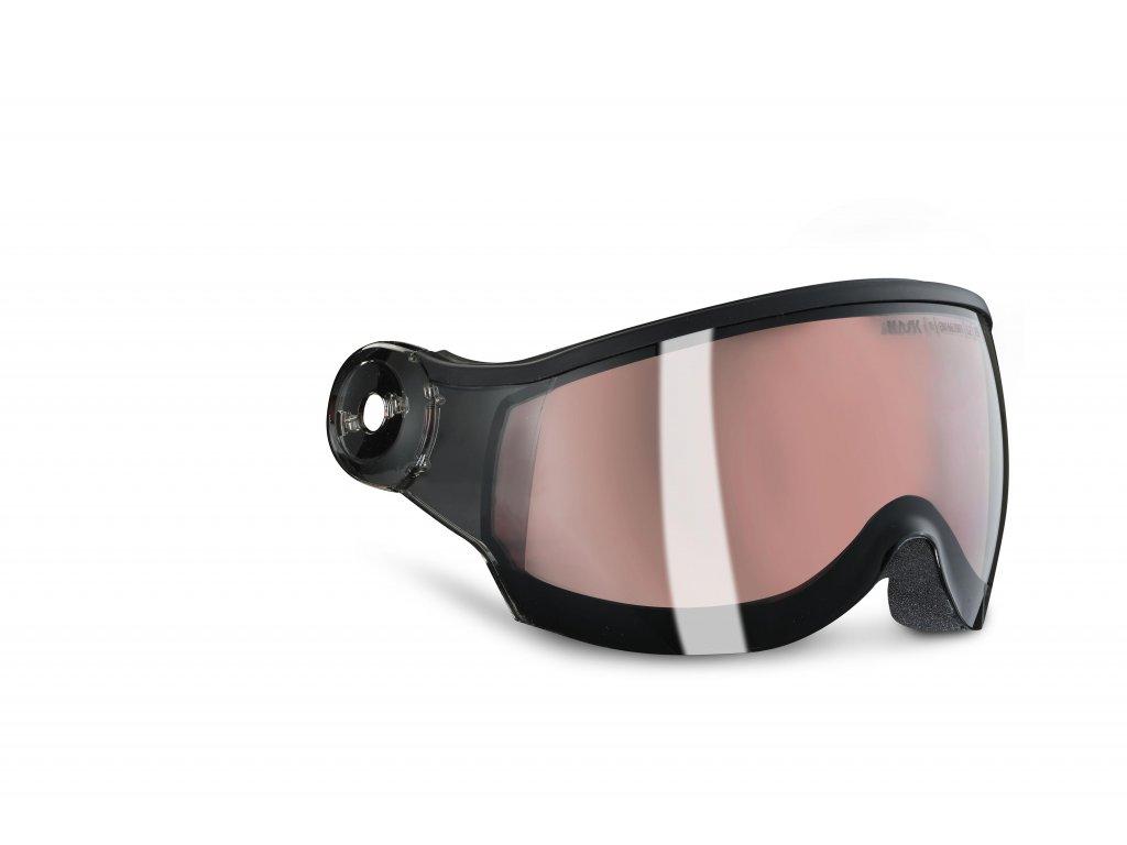 Photochromic visor transition S1 S2