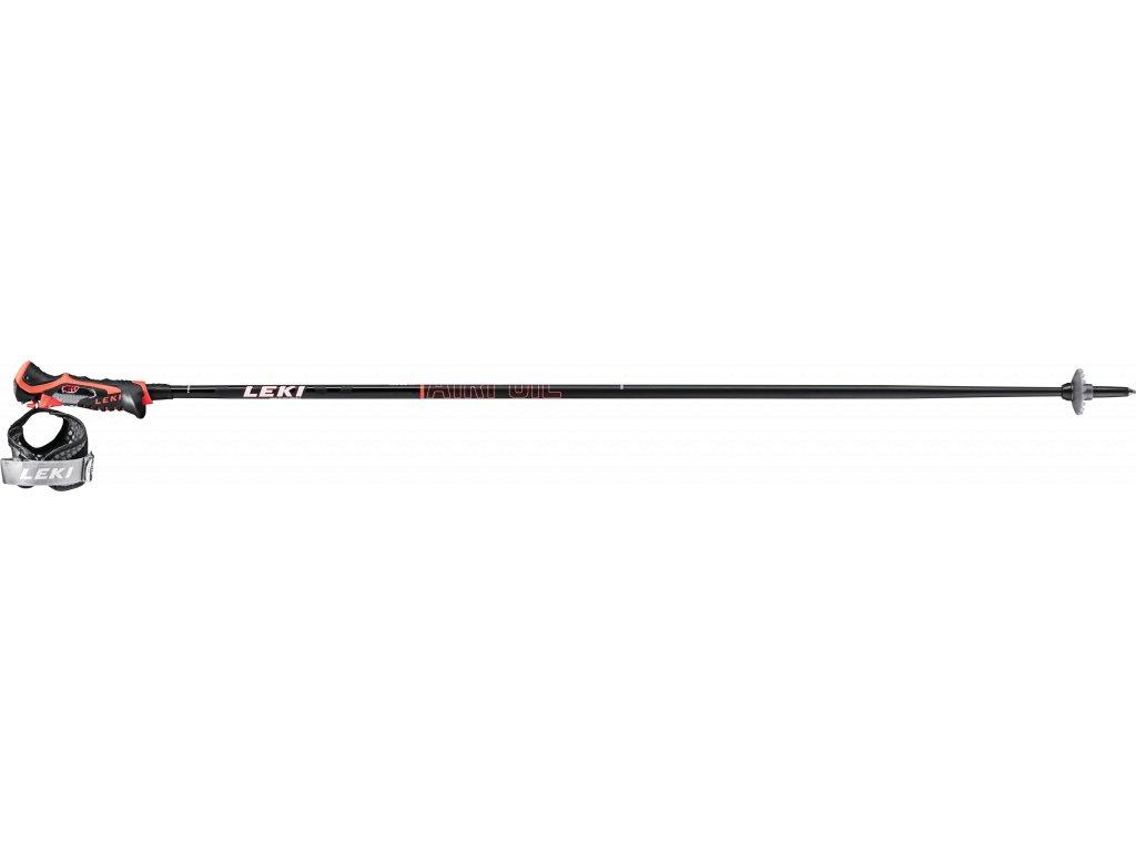 LEKI AIRFOIL 3D BLACK-FLUORESCENT RED-WHITE