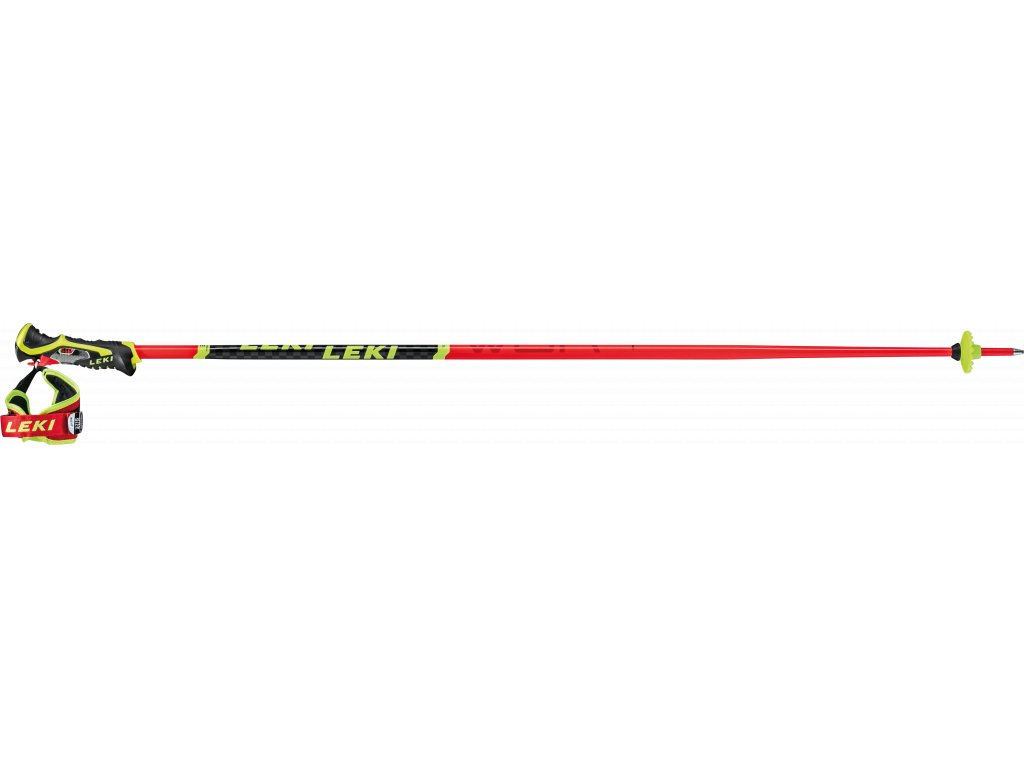 LEKI WCR TBS SL 3D FLUORESCENT RED-BLACK-NEONYELLOW