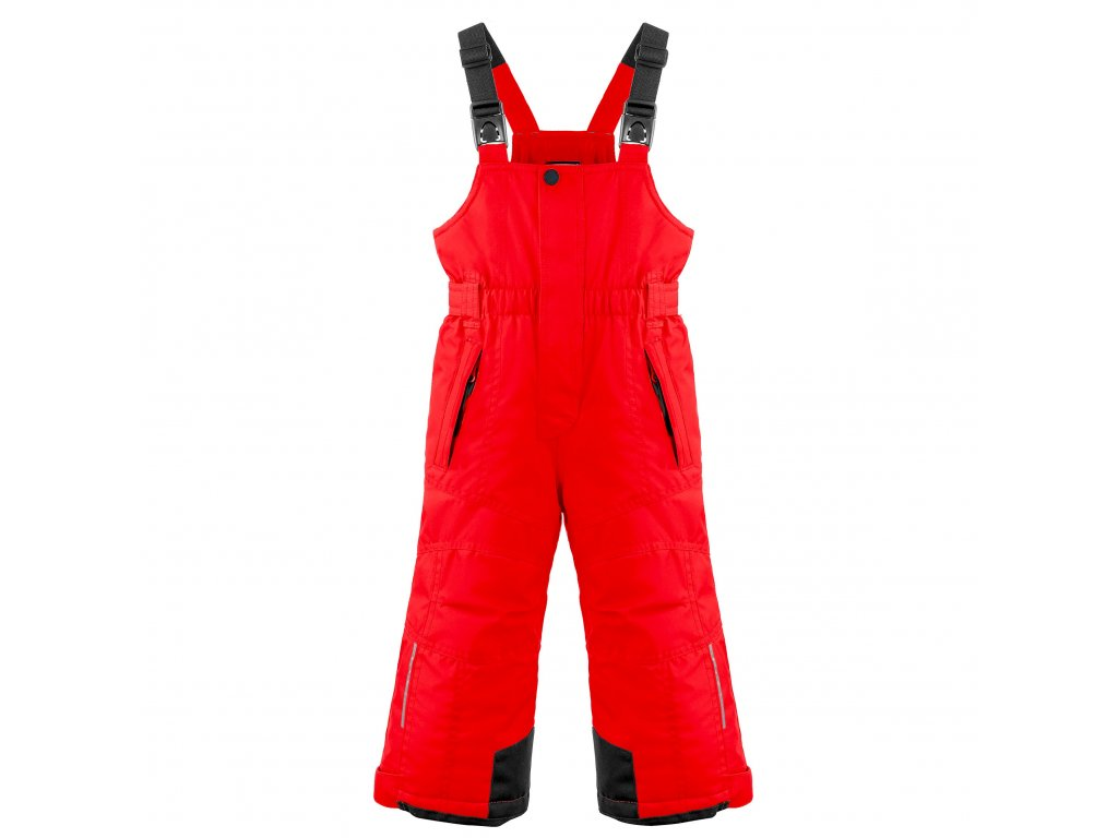 POIVRE BLANC W20-0924-BBBY SKI BIB PANTS SCARLET RED