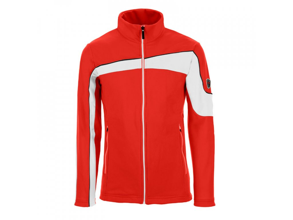 VIST.U6040AO2AAA GUSTAVO sweater red white black