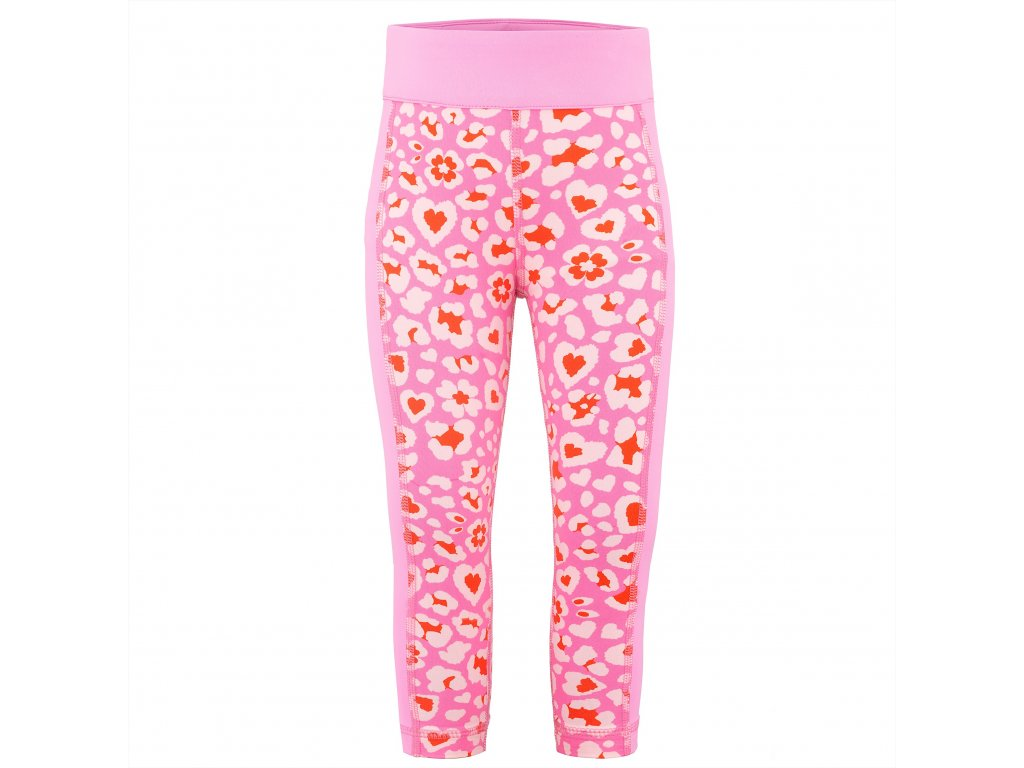 POIVRE BLANC W19-1920-BBUX 1ST LAYER PANTS FEVER HEART/PINK