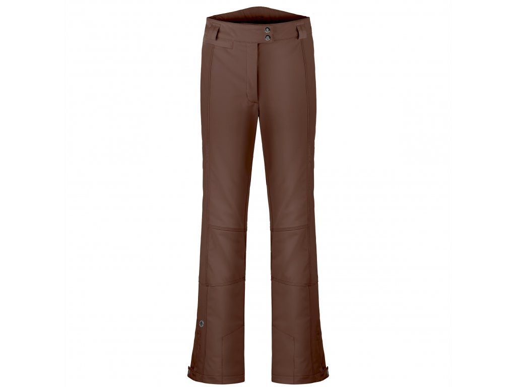 POIVRE BLANC W19-0820-WO/A STRETCH SKI PANTS COCOA BROWN (Velikost XS)
