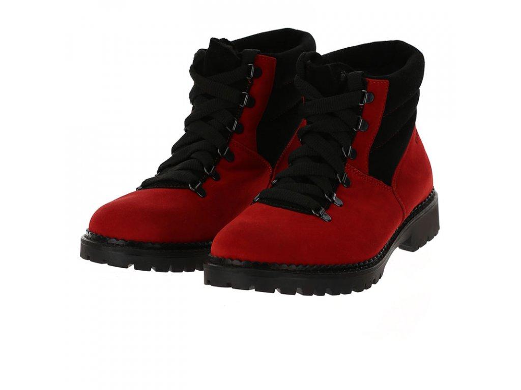 VIST M4020CH 2A99 Skichic ZEFFIRO ankle boots red