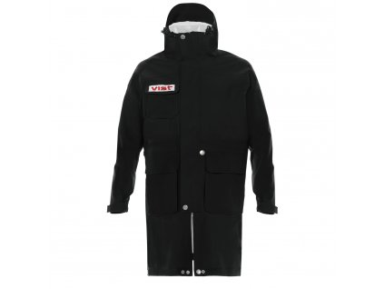 RAIN COAT UNISEX S15A081W326 BLACK