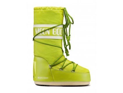 MOON BOOT LIME FRONT
