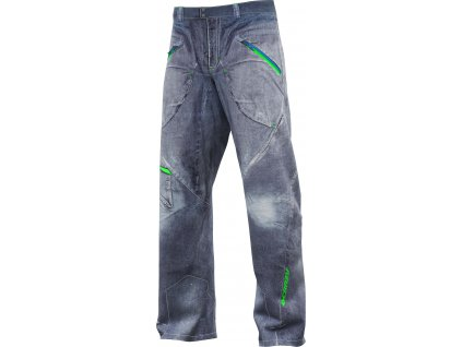 W18015204U 00 Pant Scooter Man 22JS Print Light Jeans