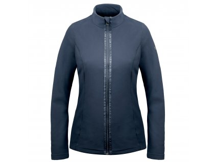 POIVRE BLANC W17-1500-WO FLEECE JACKET GOTHIC BLUE
