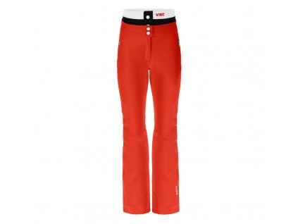 VIST D3070AA 2AAB Skichic LAVINIA ins.ski pants with basque red black white